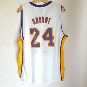 58f486732 Links Marketing Group Shirts - Lakers Size XL Mesh Jersey Bryant  24  Basketball